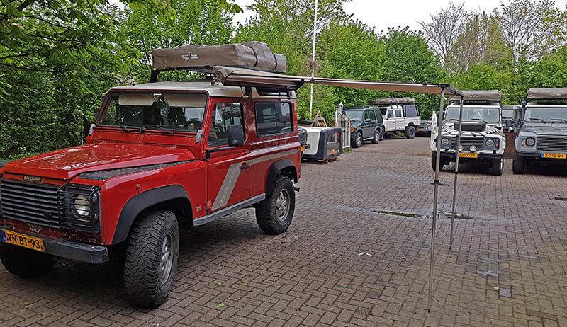Defender 90 huren bij Larorent Land Rover verhuur