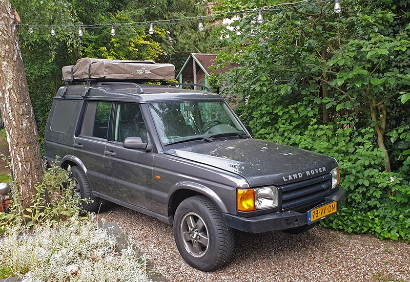 Discovery TD5 te huur Land Rover